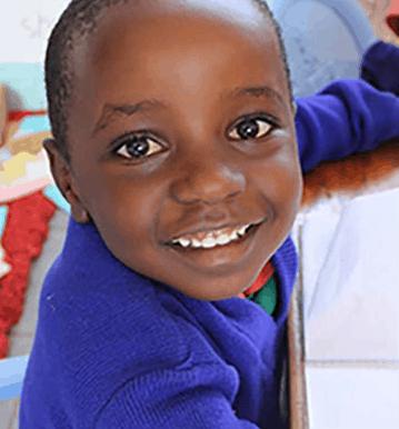 Aberdare student smiling