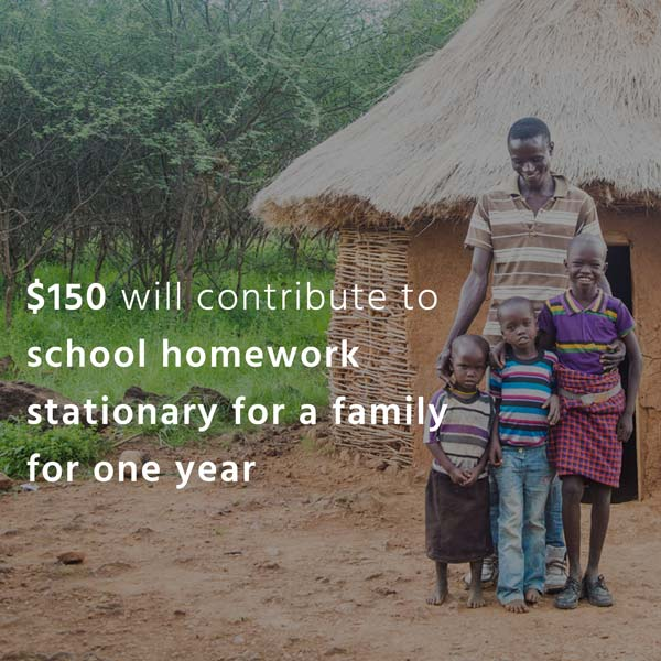 Impact Tiles. $150 will contribute to school homework stationary for a family for one year.